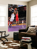 Houston Rockets v Sacramento Kings: Luis Scola and DeMarcus Cousins Posters by Rocky Widner