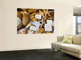 Bread Shop Window, Bergamo, Lombardy, Italy Posters by Peter Adams
