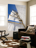 Star Clippers&#39; Star Flyer Sailing Ship in the Aegean Sea Art by Holger Leue