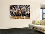 Dallas Mavericks v Miami Heat - Game One, Miami, FL - MAY 31: LeBron James and DeShawn Stevenson Poster by Andrew Bernstein