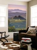 Farmhouse, Val D' Orcia, Tuscany, Italy Print by Doug Pearson