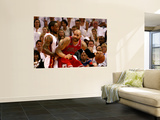 Chicago Bulls v Miami Heat - Game ThreeMiami, FL - MAY 22: Carlos Boozer and Udonis Haslem Poster by Marc Serota