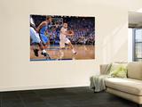 Oklahoma City Thunder v Dallas Mavericks - Game TwoDallas, TX - MAY 19: Jose Barea, Eric Maynor Poster by Andrew Bernstein