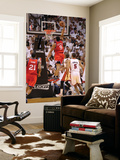 Philadelphia 76ers v Miami Heat - Game Five, Miami, FL - APRIL 27: Andre Iguodala Prints by Mike Ehrmann