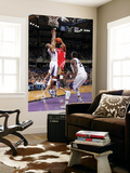 Houston Rockets v Sacramento Kings: Kyle Lowry and Carl Landry Posters by Rocky Widner