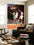 Boston Celtics v New York Knicks: Amar'e Stoudemire and Ray Allen Posters by Lou Capozzola