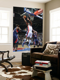Atlanta Hawks v Detroit Pistons: Chris Wilcox, Josh Smith and Mike Bibby Posters by Allen Einstein
