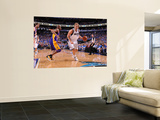 Los Angeles Lakers v Dallas Mavericks - Game Three, Dallas, TX - MAY 6: Dirk Nowitzki and Kobe Brya Prints by Andrew Bernstein