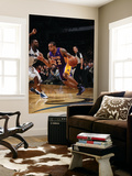 Los Angeles Lakers v Washington Wizards: Shannon Brown and Gilbert Arenas Prints by Ned Dishman