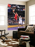 Houston Rockets v Sacramento Kings: Courtney Lee and DeMarcus Cousins Poster by Rocky Widner