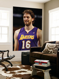 Los Angeles Lakers v New Orleans Hornets - Game Three, New Orleans, LA - APRIL 22: Pau Gasol Posters by Chris Graythen