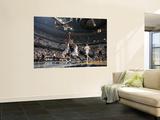 San Antonio Spurs v Memphis Grizzlies - Game Six, Memphis, TN - APRIL 29: Tony Parker and Mike Conl Art by Joe Murphy