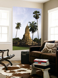 Wat Phra Si Ratana Mahathat Framed by Palms Posters by Austin Bush