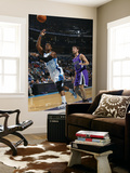 Sacramento Kings v New Orleans Hornets: Chris Paul and Beno Udrih Prints by Layne Murdoch