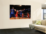 2011 NBA All Star Game, Los Angeles, CA - February 20: Chris Bosh and Pau Gasol Prints by Noah Graham
