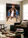 Minnesota Timberwolves v Phoenix Suns: Robin Lopez, Wesley Johnson and Darko Milicic Prints by Barry Gossage