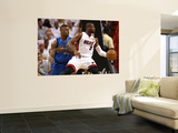 Dallas Mavericks v Miami Heat - Game Two, Miami, FL - JUNE 02: Dwyane Wade and DeShawn Stevenson Prints by Ronald Martinez