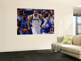 Oklahoma City Thunder v Dallas Mavericks - Game Five, Dallas, TX - MAY 25: Tyson Chandler Posters by Tom Pennington