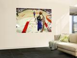 Sacramento Kings v Houston Rockets: Jason Thompson and Chuck Hayes Prints by Bill Baptist