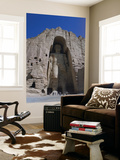 Worlds Largest Standing Buddha, Bamiyan, Afghanistan Prints by Steve Vidler