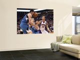 Minnesota Timberwolves v Phoenix Suns: Darko Milicic and Steve Nash Prints by Christian Petersen