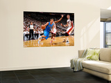 Dallas Mavericks v Miami Heat - Game One, New York, FL - MAY 31: Jose Barea and Mike Miller Posters by Jesse D. Garrabrant