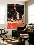 Indiana Pacers v Chicago Bulls: Darren Collison, Joakim Noah and Derrick Rose Posters by Ray Amati
