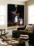 Los Angeles Lakers v Washington Wizards: Lamar Odom and Kevin Seraphin Posters by Ned Dishman