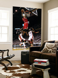 Chicago Bulls v Miami Heat - Game FourMiami, FL - MAY 24: Derrick Rose, LeBron James and Udonis Has Print by Mike Ehrmann