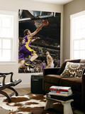 Los Angeles Lakers v Indiana Pacers: Pau Gasol and Josh McRoberts Art by Ron Hoskins