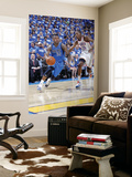 Dallas Mavericks v Oklahoma City Thunder - Game Three, Oklahoma City, OK - MAY 21: DeShawn Stevenso Print by Layne Murdoch