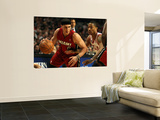 Miami Heat v Chicago Bulls - Game Five, Chicago, IL - MAY 26: Mike Bibby and Derrick Rose Prints by Jonathan Daniel