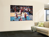 Miami Heat v Dallas Mavericks - Game Four, Dallas, TX -June 7: Chris Bosh and Tyson Chandler Prints by Glenn James