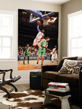 Boston Celtics v New York Knicks: Amar'e Stoudemire and Semih Erden Prints by Lou Capozzola