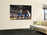 Oklahoma City Thunder v Memphis Grizzlies - Game Six, Memphis, TN - MAY 13: Sam Young, Kendrick Per Prints by Joe Murphy