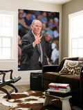 Orlando Magic v Denver Nuggets: George Karl Poster by Garrett Ellwood