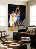 Minnesota Timberwolves v Golden State Warriors: Michael Beasley and Dorell Wright Prints by Rocky Widner