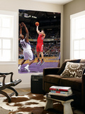Houston Rockets v Sacramento Kings: Luis Scola and Darnell Jackson Posters by Rocky Widner