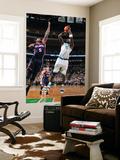Atlanta Hawks v Boston Celtics: Kevin Garnett and Josh Smith Prints by Steve Babineau