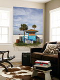 Beach Chair Rental Shack Posters by Thomas Winz