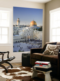 Western Wall and Dome of the Rock Mosque, Jerusalem, Israel Prints by Michele Falzone