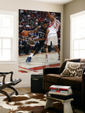 Memphis Grizzlies v Houston Rockets: Rudy Gay and Shane Battier Print by Bill Baptist