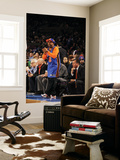 Boston Celtics v New York Knicks: Spike Lee Prints by Lou Capozzola
