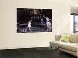 Oklahoma City Thunder v Dallas Mavericks - Game TwoDallas, TX - MAY 19: Eric Maynor and Peja Stojak Prints by Danny Bollinger