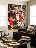Chicago Bulls v Miami Heat - Game FourMiami, FL - MAY 24: Joakim Noah and Udonis Haslem Láminas por Issac Baldizon