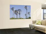 Windmills at American Wind Power Center and Musuem Prints by Lou Jones
