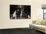 Milwaukee Bucks v Dallas Mavericks: Brandon Jennings and Dirk Nowitzki Prints by Glenn James