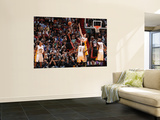 Los Angeles Lakers v Miami Heat, Miami, FL - March 10: LeBron James, Pau Gasol, Matt Barnes, Joel A Prints by Andrew Bernstein