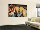 Los Angeles Lakers v New Orleans Hornets - Game Three, New Orleans, LA - APRIL 22: Andrew Bynum Print by Chris Graythen