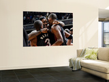 Miami Heat v Washington Wizards: LeBron James, Dwyane Wade and Chris Bosh Posters by Greg Fiume